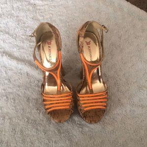 Chucky cork sandals